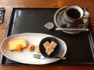 デザート+コーヒー
