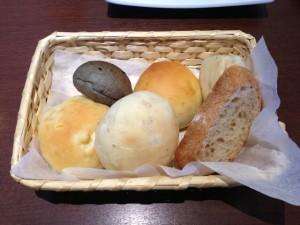 ランチにつくパン