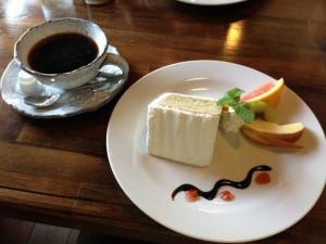 茶蔵のシフォンケーキ