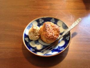 お味噌のスコーン