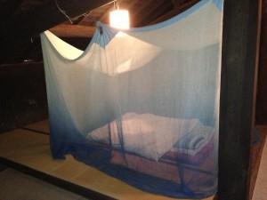 ムコとツマの家の寝室
