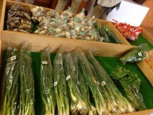 関宿にある野菜