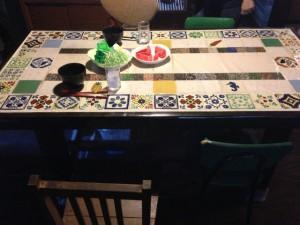 ムコとツマの家の食卓