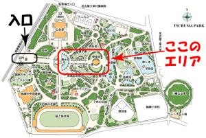 鶴舞公園地図