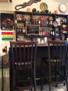 Cafe PAHANAカウンター