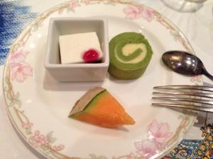 季節のデザート