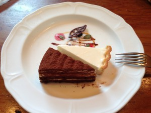 ティラミスとレアチーズケーキ