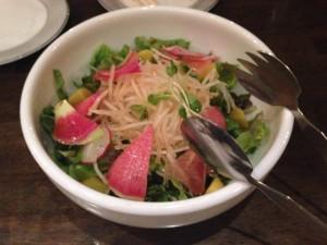 いろいろ大根の彩りサラダ