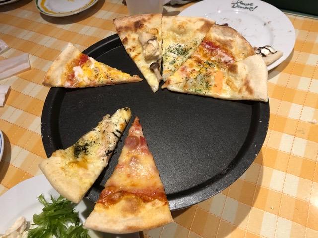 ピザおかわり