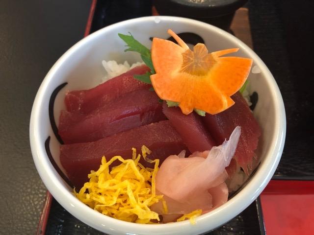 和食処 なかつ川 ミニ鉄火丼