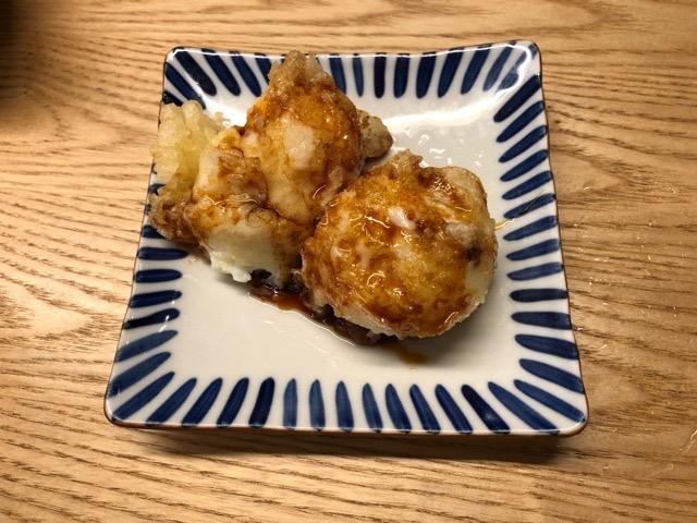 串焼き 木村 半熟たまご天ぷら