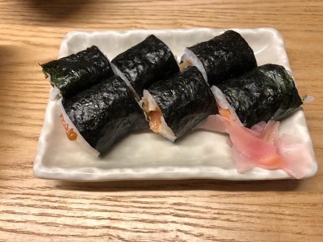 串やき 木村  巻き寿司