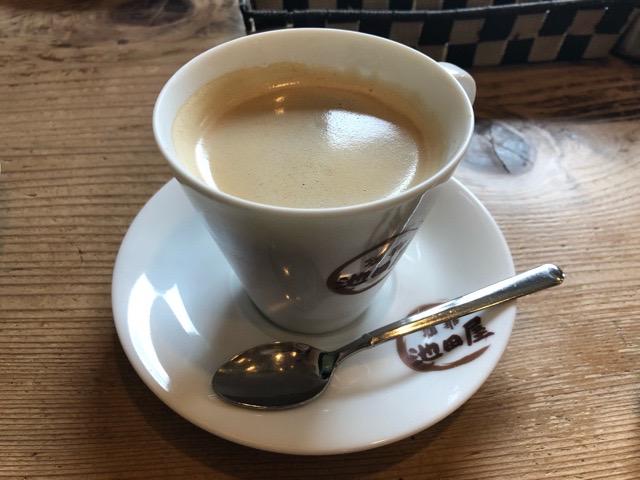 珈琲 池田屋 ホットコーヒー